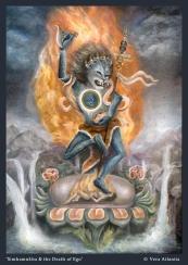 Simhamukha and the Death of Ego_Vera Atlantia